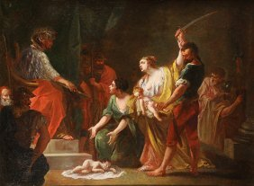 Painting, Wisdom Of King Solomon