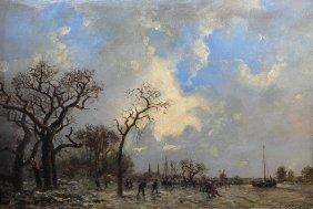 Painting, Johan Barthold Jongkind