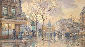 Watercolor, Eugene Galien-laloue
