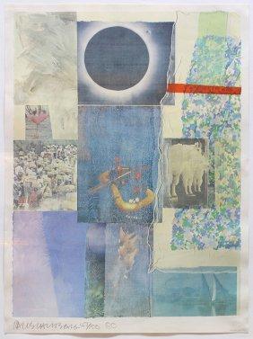 Print, Robert Rauschenberg