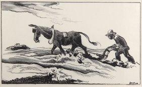 Print, Thomas Hart Benton