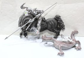 Sculpture, Saint George And The Dragon
