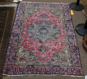 Semi Antique Kerman Carpet