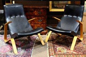 "(lot Of 2) Eero Saarinen For Knoll ""grasshopper Chairs"""