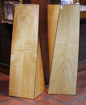Pair Of Michael Traylor Designs Ltd Pedestals