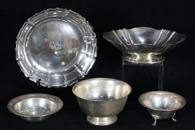 American Sterling Silver Bowls