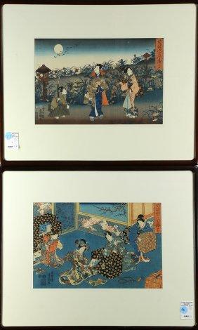Japanese Woodblock Prints, Toyokuni, 19c