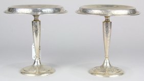 (lot Of 2) Shreve & Company Sterling Silver Weighted