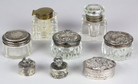 (lot Of 8) Miniature Vanity Table Articles Including