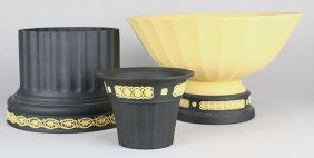 (lot Of 3) Wedgwood Jasperware Group