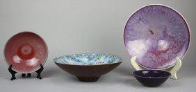 (lot Of 4) American Studio Pottery Vessels, Potters