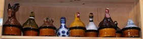 (lot Of 9) Figural Ceramic Tureens, Decorated With