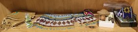 (lot Of 11) Collection Of Native American Beadwork,