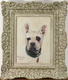 Painting, Portrait Of A Dog