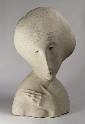 Plaster Sculpture, European School (20th Century)