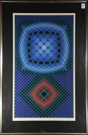 Print, Victor Vasarely