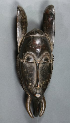 Guro, Cote D'ivoire Elephant Mask, Attractive, Eroded,