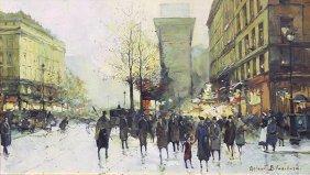 Painting, Antoine Blanchard