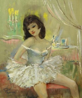Jean Gabriel Domergue, Painting