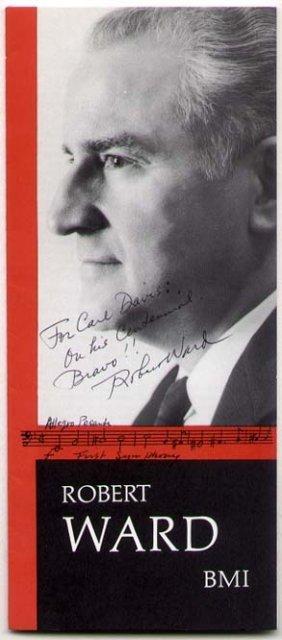 Robert Ward - American Composer