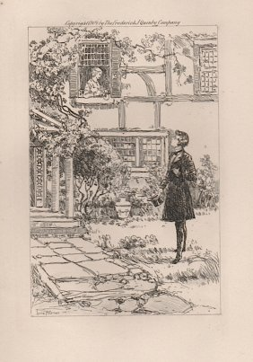 Louis Meynell (b. 1868) Etching