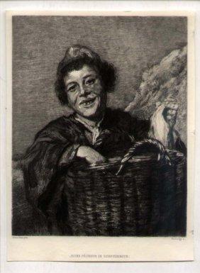 Paul Le Rat [1849-1892] French Etcher