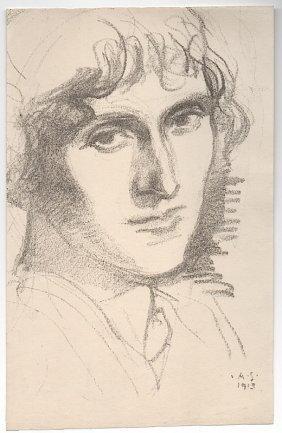 Albert Sterner (1863-1946) Lithograph