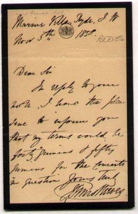 John Sims Reeves (1821-1900) Opera