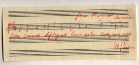 Maurice Baron (1889-1964) French Born Composer