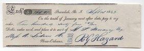 Rowland G. Hazard (1801-1888) American Industrialist