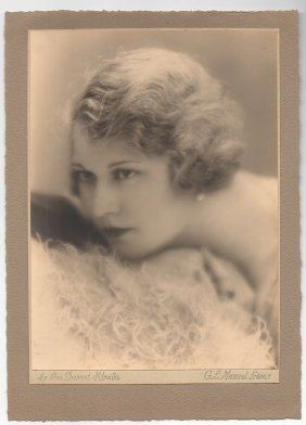 Vintage 1920s Photograph Of The Actress Tania Fedor