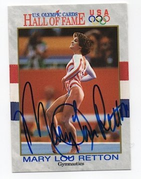 Mary Lou Retton - Old Medal Gymnast