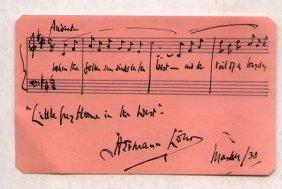 Herman Lohr (1871-1946) English Composer