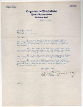 Reid F. Murray - Wisconsin Congressman