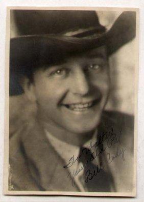 Bill Cody [1891-1948] Hollywood B-western Actor