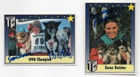 Susan Butcher (1954-2006) Iditarod Winner