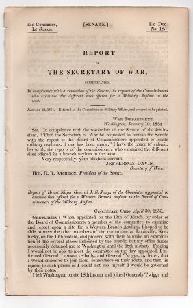 Jefferson Davis 1854