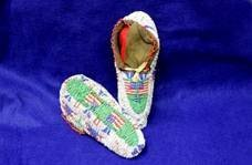 Fully Beaded Moccasins