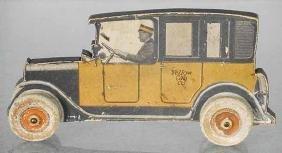 BIRCHCRAFT YELLOW CAB ADVERTISING AUTO