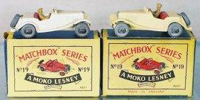 2 MATCHBOX MG MOKOS