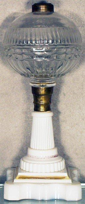 ATTERBURY CHIEFTAIN OIL LAMP