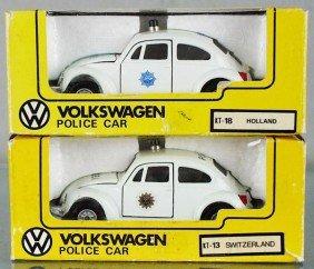 2 KADO VOLKSWAGEN POLICE CARS