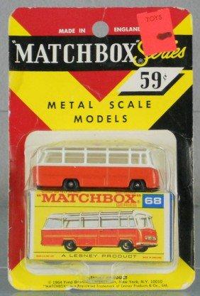 MATCHBOX 68B2 MERCEDES COACH