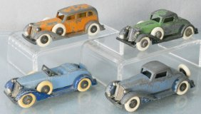 4 TOOTSIETOY VEHICLES