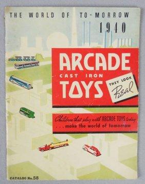 ARCADE 1940 CATALOG