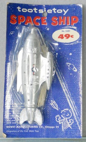 TOOTSIETOY 2480 SPACE SHIP