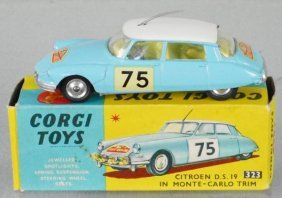 Corgi 323 Citroen Ds19