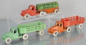 3 Tootsietoy Mack Trucks