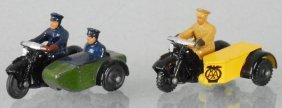 2 Dinky Motorcycles