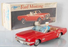 Alps Ford Mustang Auto W/driver & Dog